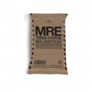 Meal Kit Supply 3-course MRE meal bag.