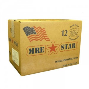 MRE Star 12 pack MREs with Heater