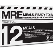 MRE 12-Pack 3 Course with Heaters - Sept 2017